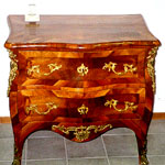 miniature de : commode en noyer